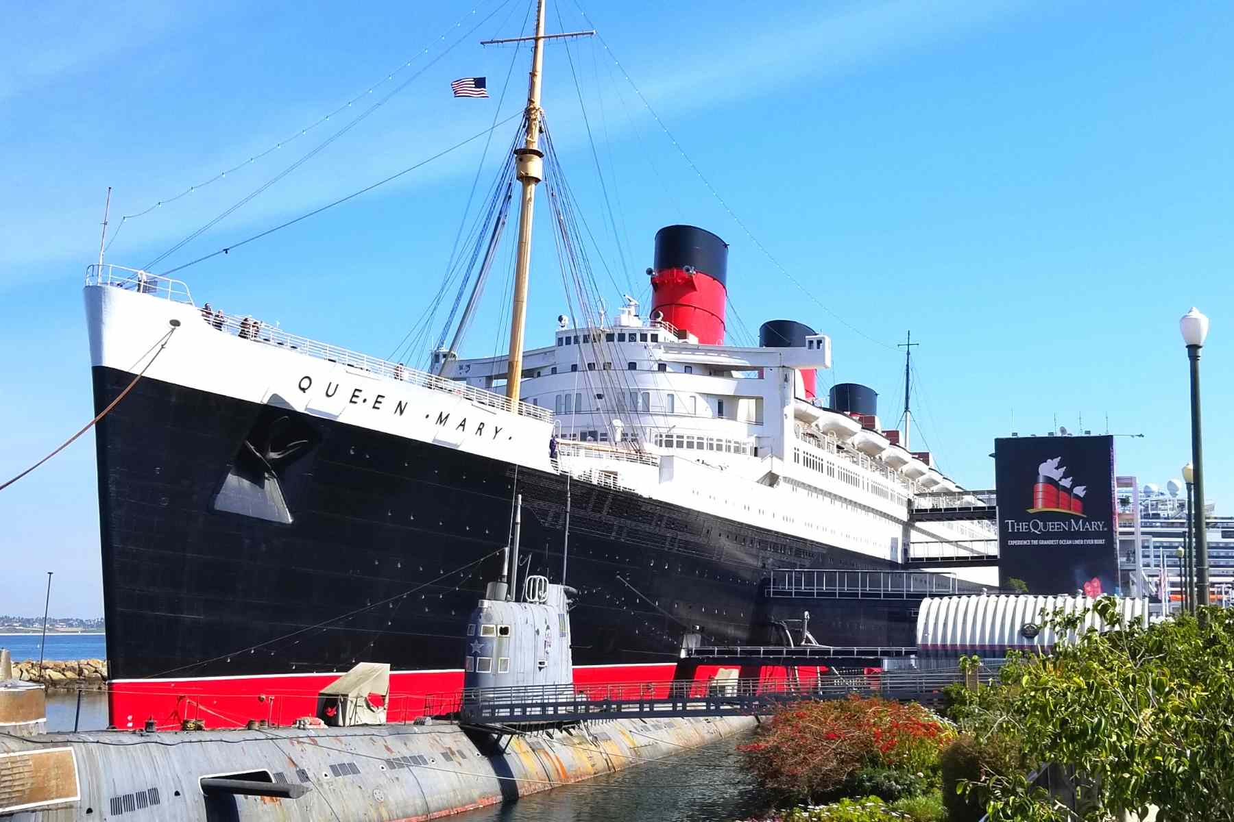 Queen Mary Hotel in Long Beach