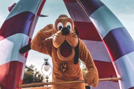 Pluto Disney character