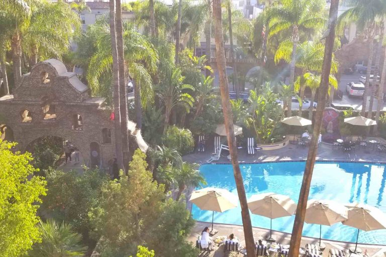 Mission Inn Pool area