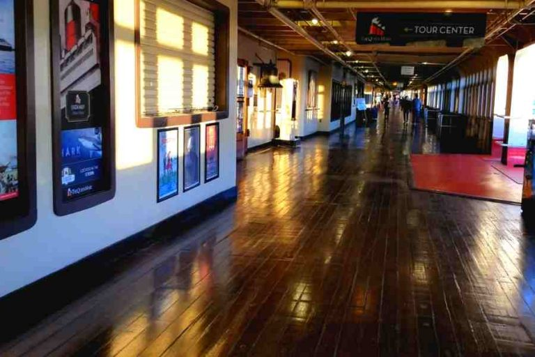 Queen Mary Original Wood floors