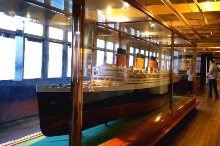 Shipbuilders Model Gallery onboard Queen Mary