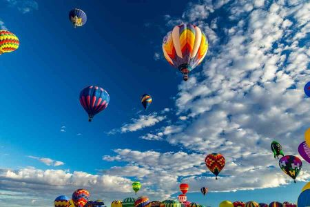 Hot Air Balloon Festival in Albuquerque