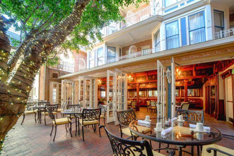 Horton Grand restaurant patio