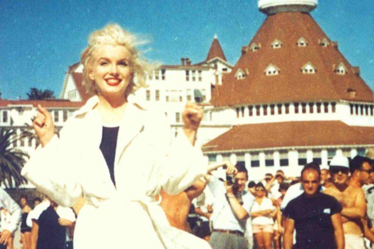 Marilynn Monroe at Hotel del Coronado
