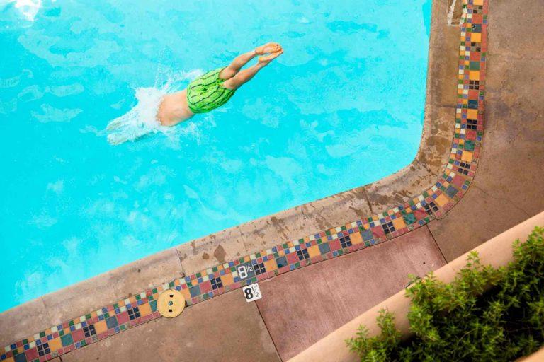 Pool at La Fonda Hotel