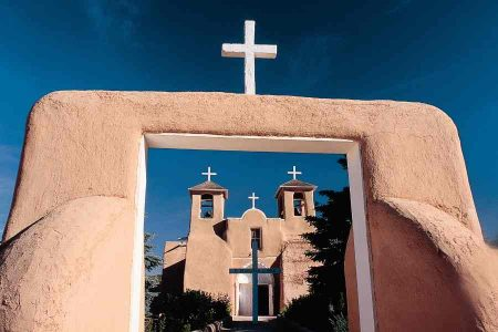 Historic Rancho de Taos Church