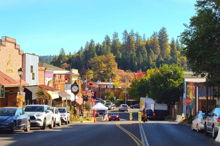 Historic Downtown Grass Valley CA