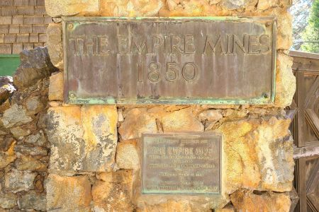 Empire Mines Placard
